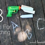 8 Fabulous Ideas For Teaching ABC's to toddlers, preschoolers ( & Autism Spectrum Kiddos) #Homeschool