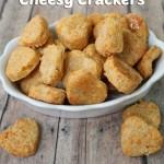 Cheesy Homemade Crackers
