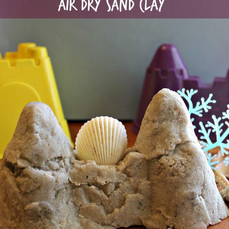 Everlasting Sandcastle Air Dry Clay
