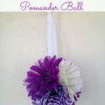 Frugal Flower Girl Pomander Ball