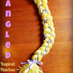 DIY Rapunzel Braid ~ Tangled Hairbow Holder