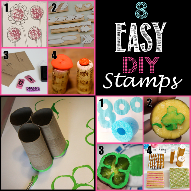 Homemade Stamps – 8 Easy Ways to Make Your Own