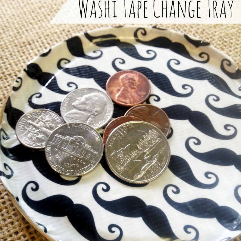 Washi Tape Change Tray – Easy Child's Craft