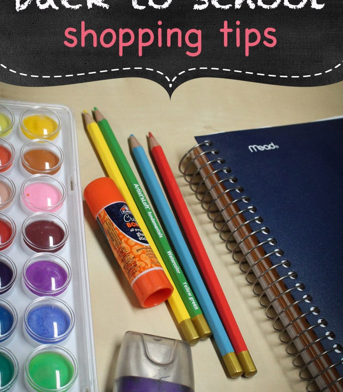 Frugal Living: Back to School Shopping Tips