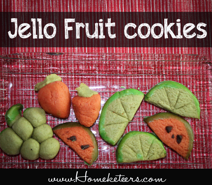 Jello Fruit Cookies
