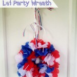 4th of July Lei Wreath