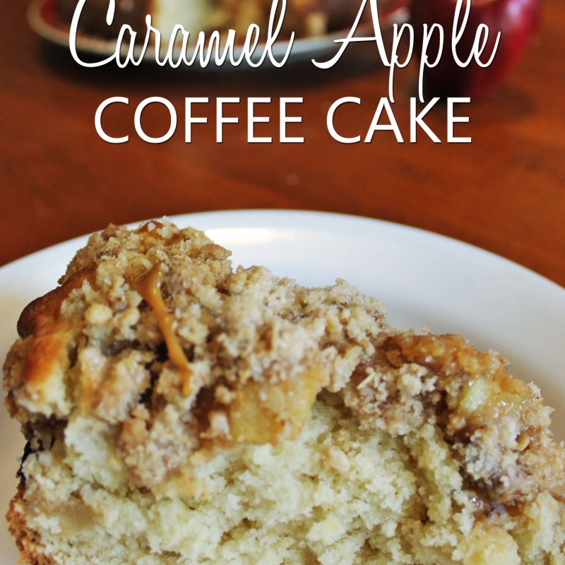 The Perfect Fall Caramel Apple Coffee Cake