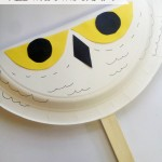 Easy Kids Craft – Harry Potter Hedwig Owl Fan