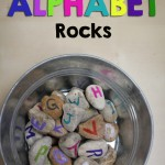 DIY Alphabet Rocks