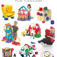 Holiday Gift Guide - Top Toys for Toddlers