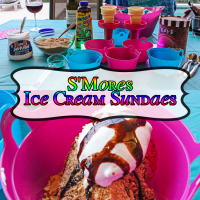 Super Simple s'Mores Sundaes