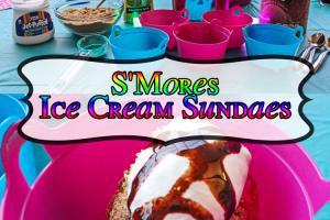 Super Simple s'Mores Sundaes