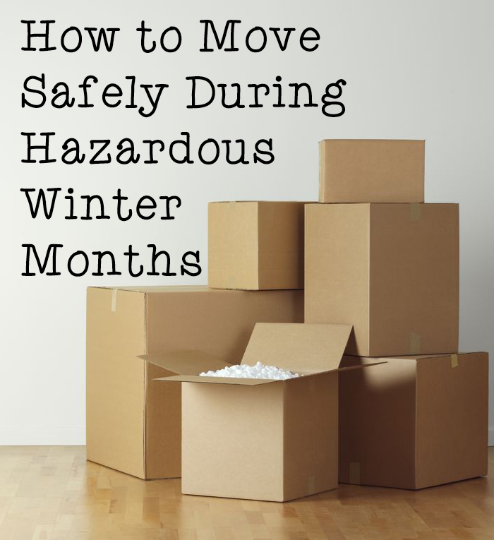 How to Move Safely During Hazardous Winter Months