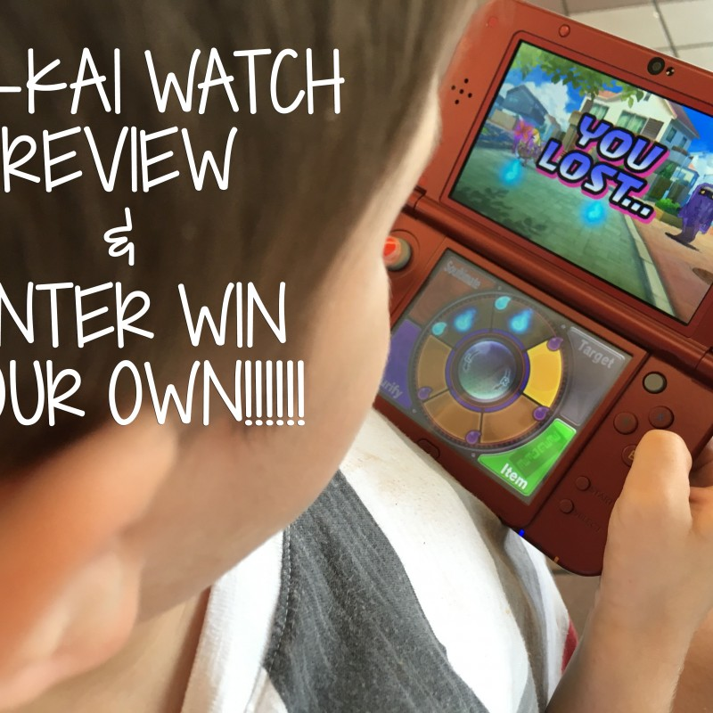 Our Mini Gamers and Yo Kai Watch