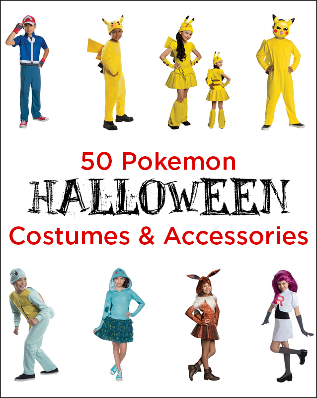 50 Pokemon Halloween Costumes and Accessories